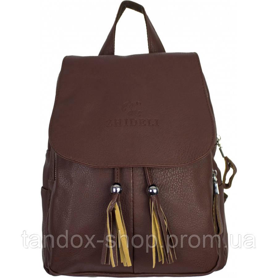 Рюкзак №0337 Коричневый