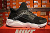 Кроссовки Nike Air Huarache Ultra Black White Черные мужские, фото 2