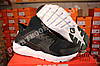 Кроссовки Nike Air Huarache Ultra Black White Черные мужские, фото 4