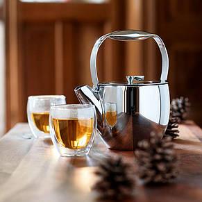 Стеклянные стаканы с двойными стенками Bodum Pavina 80 мл (ОРИГИНАЛ) 2 шт, фото 2