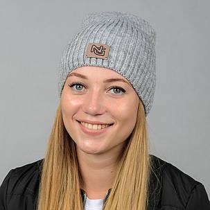 """Удлиненная молодежная шапка """"Erika"""", фото 2"""