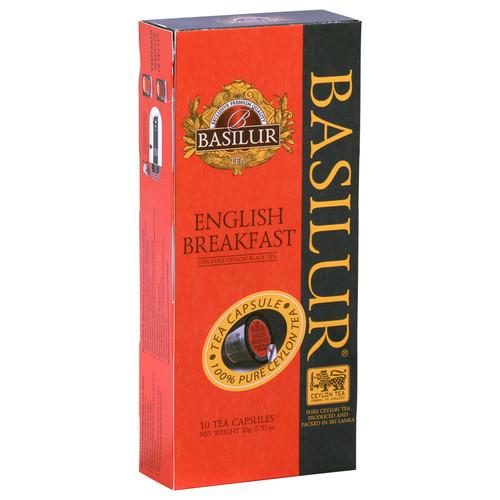 Чай в капсулах Nespresso Basilur English Breakfast 10 шт