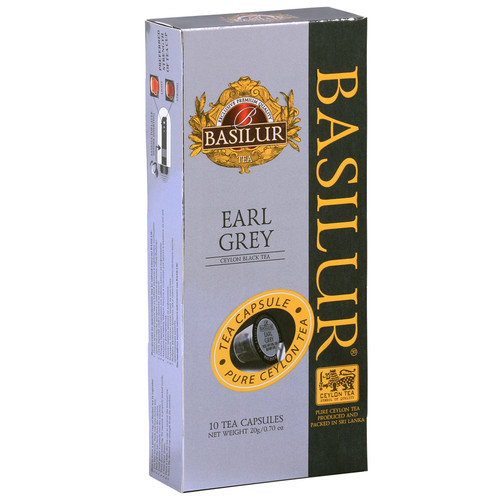 Чай в капсулах Nespresso Basilur Earl Grey 10 шт