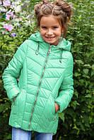Детское демисезонное пальто Мая для девочки (рост 26-42)