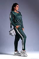 Комбинезон женский большого размера Likara / трикотаж петля / Украина 32-733, фото 1