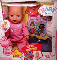 Кукла Беби Борн (Baby Born), трикотажная одежда, детские игрушки , подарки к Новому году