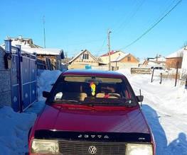 Дефлектор капота, мухобойка VW Jetta II (19Е)  1983-1991. VIP