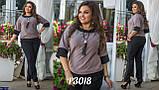 Стильный брючный костюм Размер: 48-50, 52-54,56-58, фото 2
