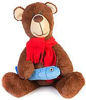 Медвежонок с рыбкой, 37 см, Тигрес