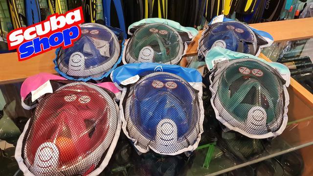 Полнолицевая маска для дайвинга и снорклинга Tribord Easybreath