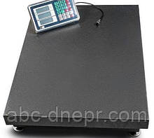 Весы платформенные 600 кг площадка 600х800 мм ВТ-600-УР