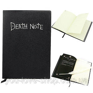 Блокнот Тетрадь смерти Death note Коллекционная оригинальная версия с пером ручкой