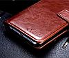 Кожаный чехол-книжка для Huawei Honor 9 Lite черный, фото 4