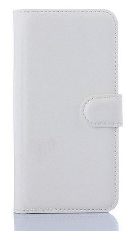 Кожаный чехол-книжка для  HTC One M9 белый, фото 2