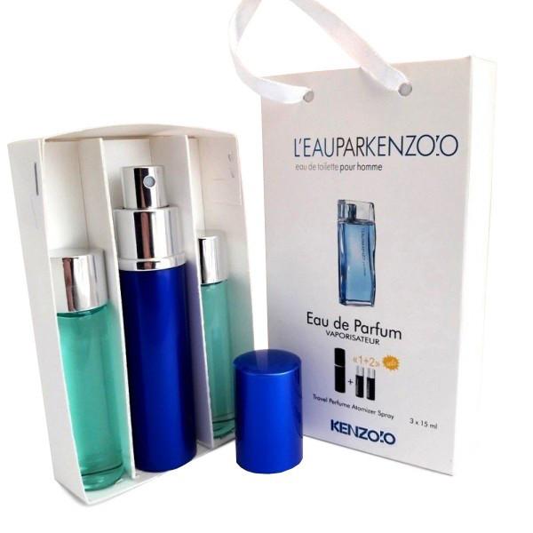 Набор с феромонами - Keеnzo L'eau par Kеenzo pour Homme (3×15 ml)
