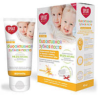 Детская зубная паста Baby, 0-3 лет, ваниль, 40 мл, Splat