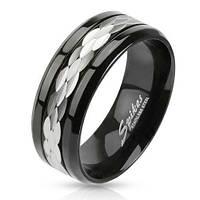 Мужское кольцо из ювелирной стали