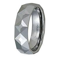 Мужское кольцо из Карбид Вольфрама man power grey