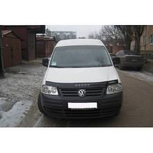 Дефлектор капота, мухобойка VW Touran с 2003-2007 г./.Caddy  с  2004 --- VIP