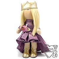Під замовлення, текстильна Лялька Принцеса, середня, ручна робота