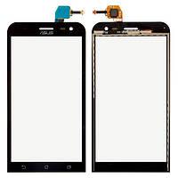 Сенсорный экран (тачскрин) Asus ZenFone 2 Laser ZE500KL | ZE500KG | | ZE500ML чёрный