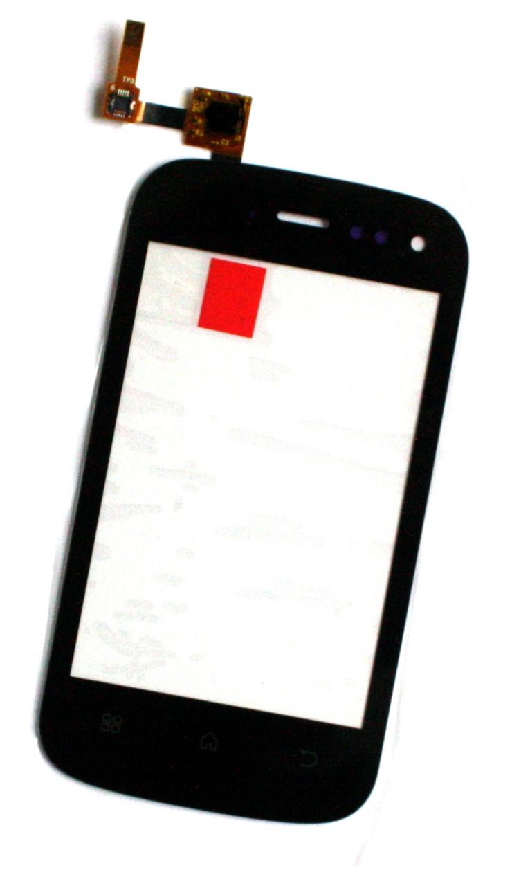 Сенсорный экран (тачскрин) Fly IQ256 Vogue чёрный ориг. к-во