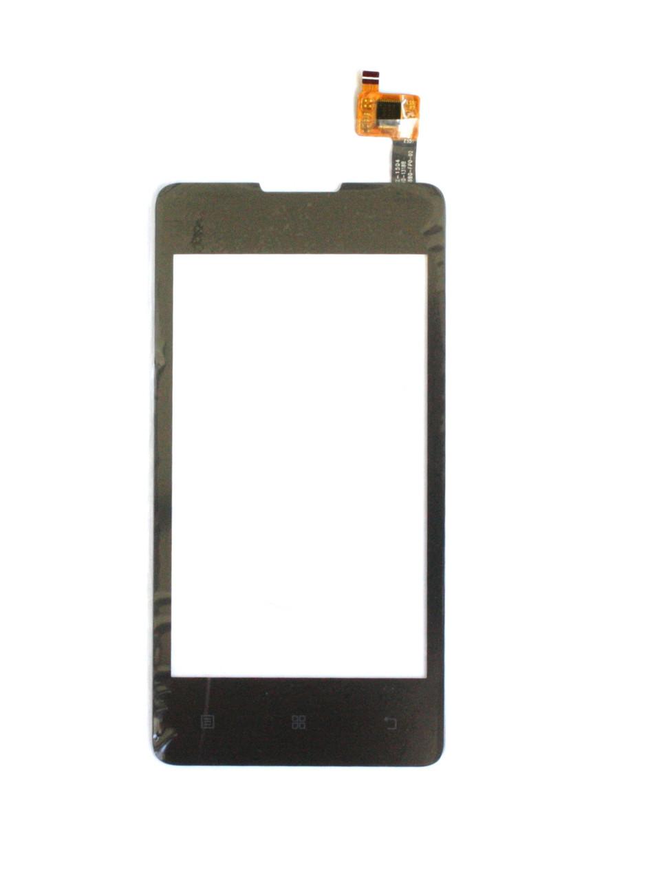 Сенсорный экран (тачскрин) Lenovo A1900 чёрный ориг. к-во