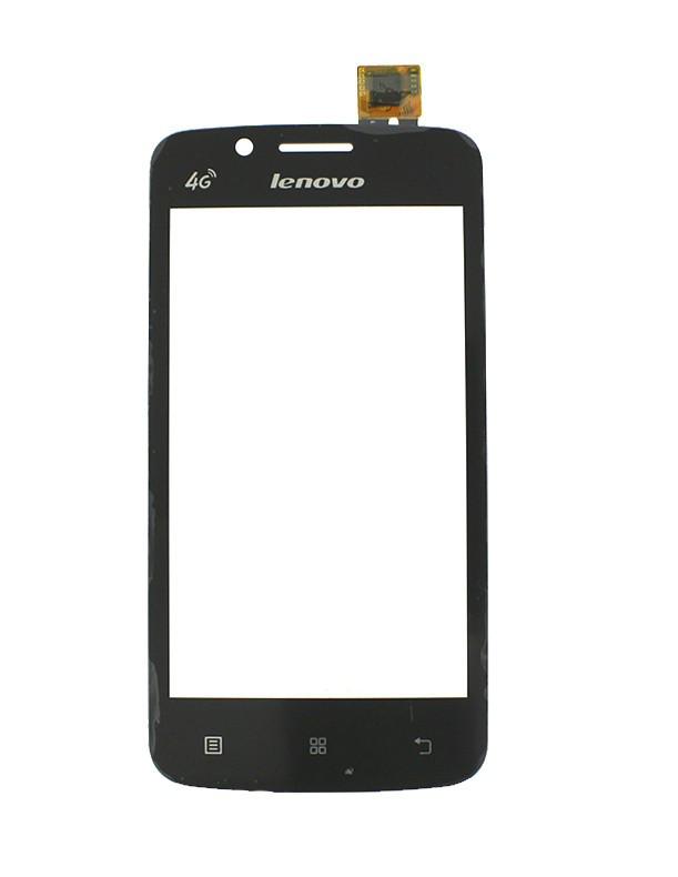 Сенсорный экран (тачскрин) Lenovo A320T чёрный ориг. к-во