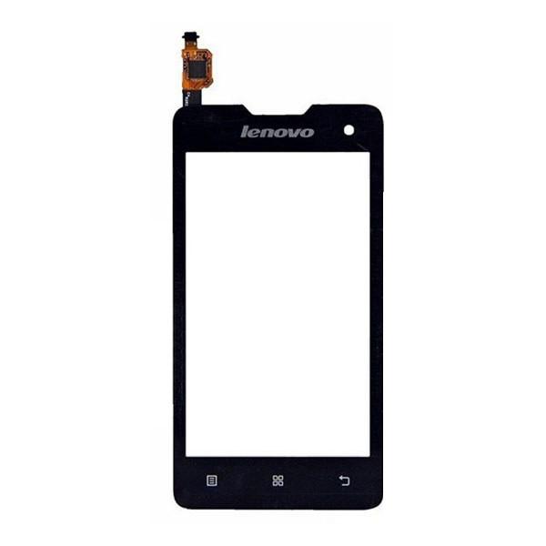 Сенсорный экран (тачскрин) Lenovo A396 чёрный ориг. к-во