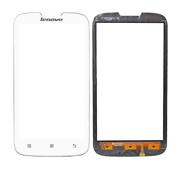 Сенсорный экран (тачскрин) Lenovo A560 white ориг. к-во