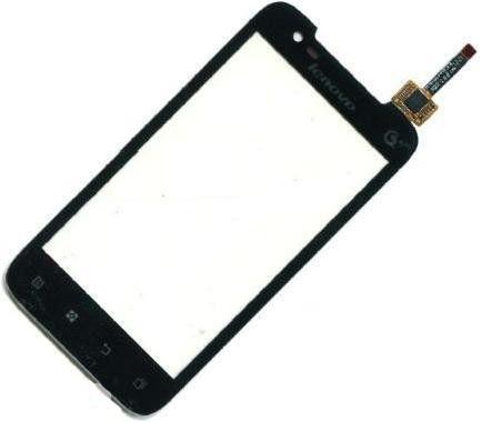 Сенсорный экран (тачскрин) Lenovo A698t чёрный ориг. к-во