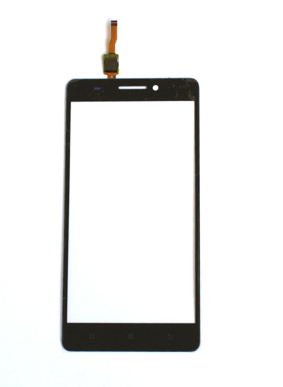 Сенсорный экран (тачскрин) Lenovo A7600 S8 (phone) чёрный ориг. к-во