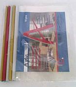 Папка А4 скоросшиватель, на планке, цена за уп. в уп. 10шт.