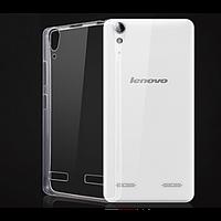 Прозрачный тонкий силиконовый чехол для Lenovo S8
