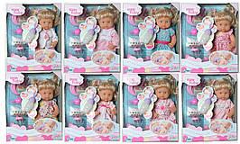 """Кукла функц. """"Baby Toby"""", 8 видов, пьет-писает, говорит, аксессуары, в кор. 39*32*18см (8шт)"""