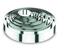 Форма круглая 18х4.5см из нержавеющей стали для выпечки торта Lacor
