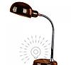Настольная лампа  E27  LMN101 бронзовая с выключателем