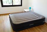 Кровать Intex 64136 надувная 203 х 152 х 42 см со встроенным насосом 220V, фото 4