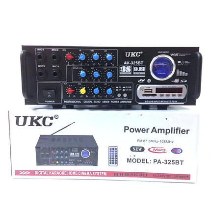 Усилитель звука UKC 325 BT с Bluetooth, фото 2