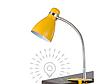 Настольная лампа  E27 LMN103 с зажимом желтый
