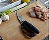 Многофункциональные кухонные ножницы Sharp для разделки мяса птицы, рыбы, фото 6
