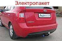 Фаркоп - Kia Carens Хэтчбек (2006-2012) съемный на двух болтах
