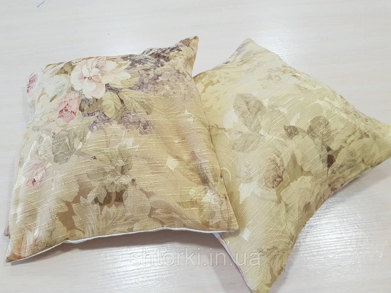 Комплект подушек  Цветы двусторонние, 2шт