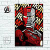 Постер Iron Man, Железный Человек (60x85см)