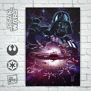 Постер Star Wars: Darth Vader, Дарт Вейдер (60x85см)