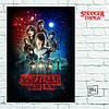 Постер Stranger Things 1, Очень Странные Дела (60x85см)