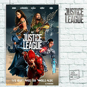 Постер Justice League, Лига Справедливости (60x85см)