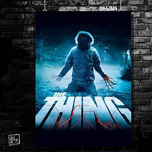 Постер The Thing, Нечто, ужасы. Размер 60x42см (A2). Глянцевая бумага