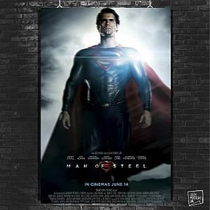 Постер Человек из стали, Супермэн, SuperMan, Man of Steel (60x85см)