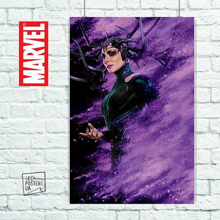 Постер Thor: Ragnarok, Тор: Рагнарёк (Хела). Размер 60x42см (A2). Глянцевая бумага, фото 2